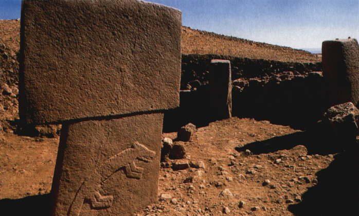 Gobekli Tepe carvings on a monolith (Wade Shepard, Vagabond Journey)
