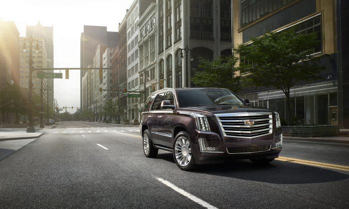 2015 Cadillac Escalade (Courtesy of Cadillac)