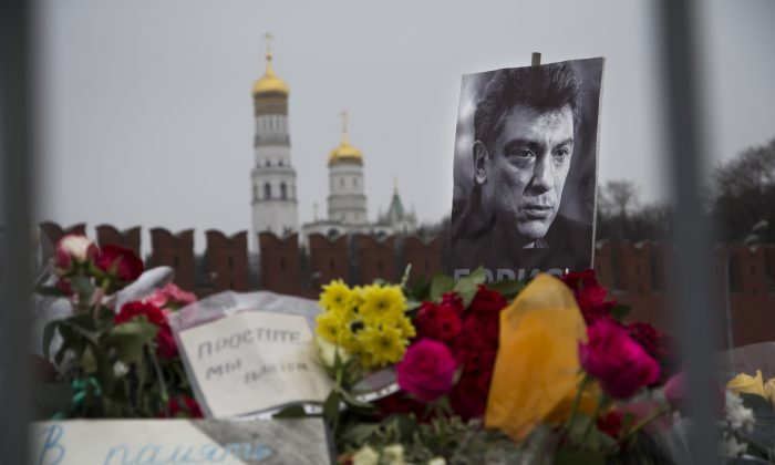 The face of a Russia that could have been. (AP Photo/Ivan Sekretarev)