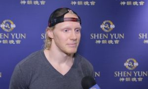 Professional Hockey Player Says Shen Yun Is What the World Needs