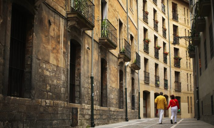 The historic city of Pamplona, Spain. Spanish lenders are starting to provide mortgages to non-resident buyers again. (Christopher Furlong/Getty Images)