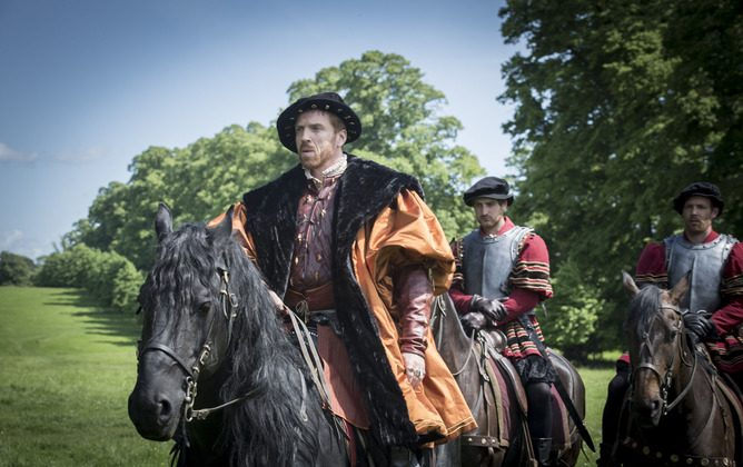 Damian Lewis as King Henry XIII in the BBC historical drama Wolf Hall. (Ed Miller/BBC/Company Productions Ltd)