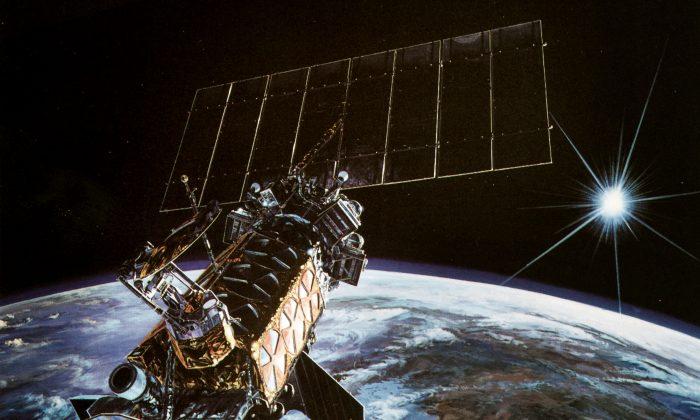 A Defense Meteorological Satellite System (DMSP) satellite (US Air Force)