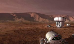 How Energy From Dry Ice Could Power Human Colonies on Mars
