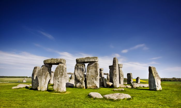 Stonehenge, England via Shutterstock*