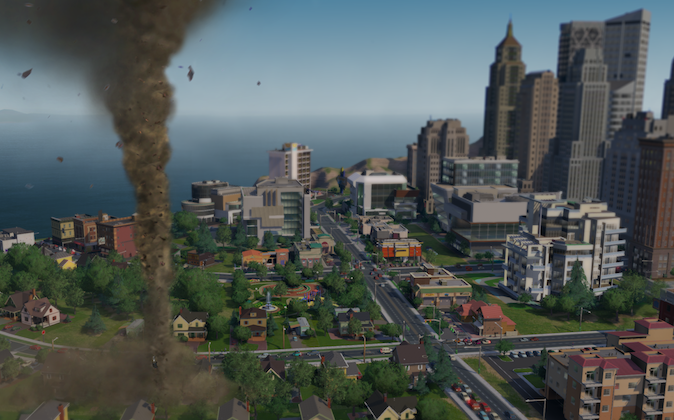 SimCity is a city building simulator game series first started in 1989. (Maxis)