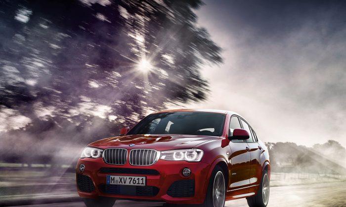 2015 BMW X4 (Courtesy of BMW)
