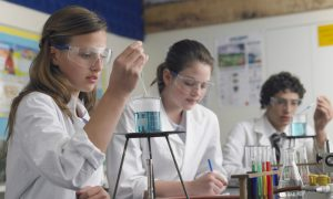 Alarming Gender Gap in School Science Sets Women Up to Fail