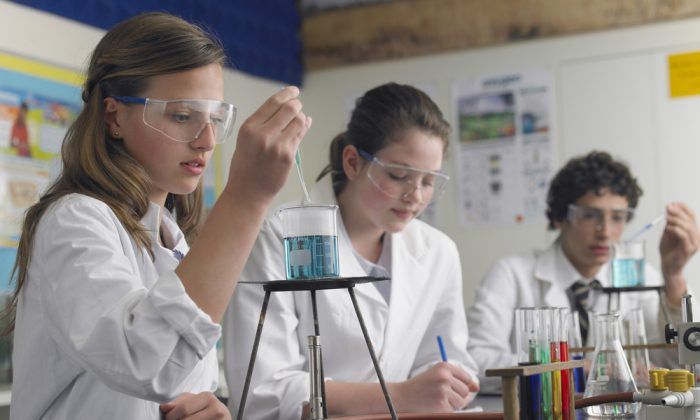 What's holding girls back at science? (Shutterstock*)