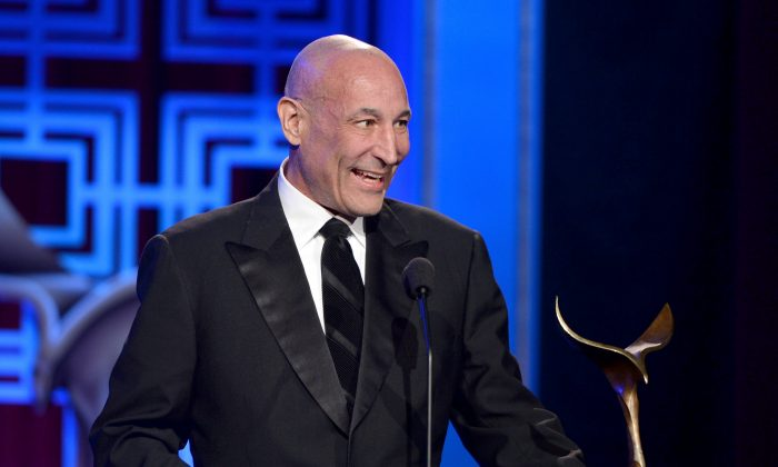 """Sam Simon, the co-creator of """"The Simpsons,"""" has died after a long battle with cancer, it was reported. (Alberto E. Rodriguez/Getty Images for WGAw)"""