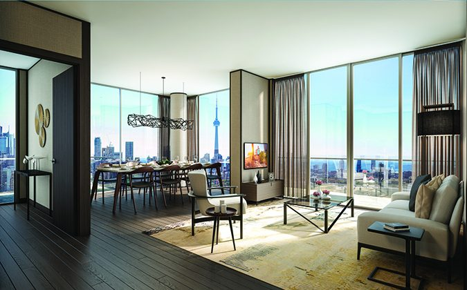 A suite at Teahouse. (Lanterra Developments)