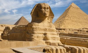 Fossil Suggests Egyptian Pyramids and SphinxOnce Submerged Under Sea Water