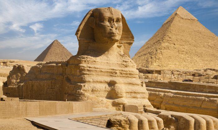 The Great Sphinx of Giza. (pius99/iStock/Thinkstock)