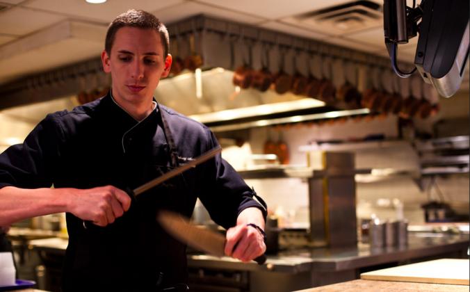 Chef Anthony Martin (Courtesy of Tru)