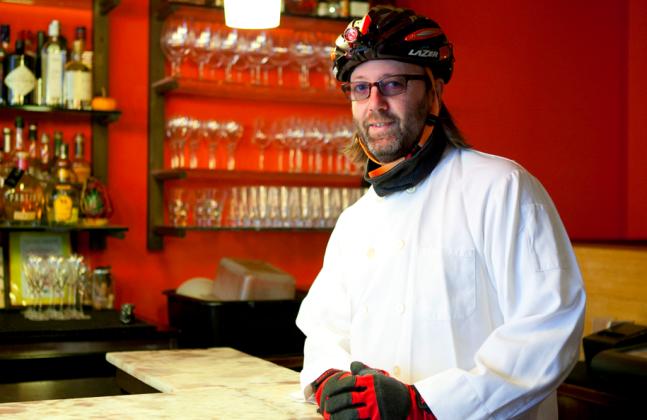 Chef Wylie Dufresne. (Samira Bouaou/Epoch Times)
