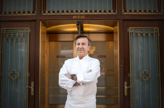 Chef Daniel Boulud. (Daniel Krieger)