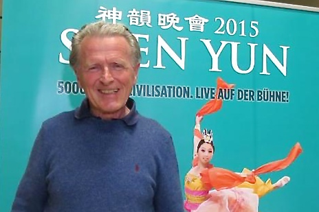 Dr. George Kapsch was deeply impressed with the Shen Yun Performance. (Qin Huang/NTD Television)