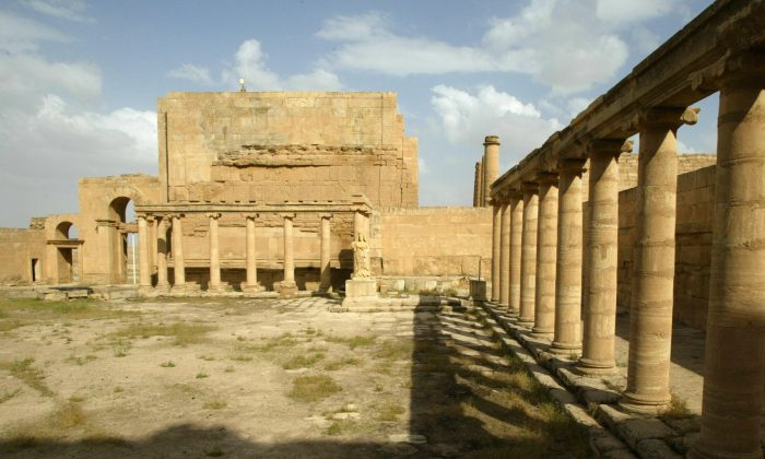 The ancient city of Hatra. (Philippe Desmazes/AFP/Getty Images)