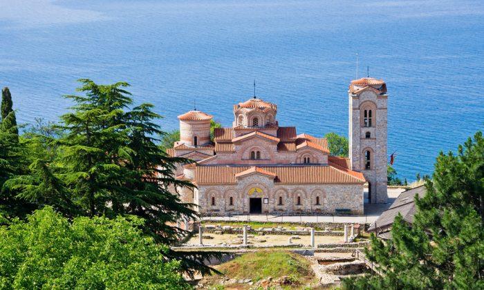 Saint Panteleimon monastery in Ohrid - Macedonia via Shutterstock*