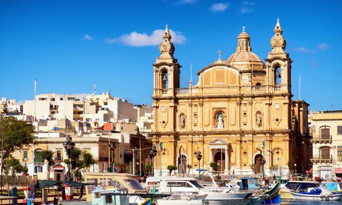 Msida Parish Church - Valletta - Malta via Shutterstock*