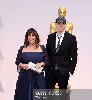 Photo Getty Images: Gregg and Danielle on red carpet  at the Academy Award Ceremony