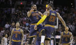 Gregg Popovich: Kyrie Irving Was 'Unstoppable'