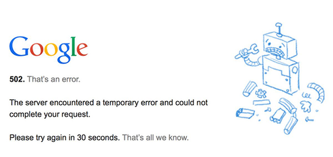 Google Drive has gone down for many on Friday morning. The outage started after 10 a.m. ET.   (Google screenshot)