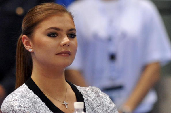 Russian former gymnast Alina Kabaeva (GIUSEPPE CACACE/AFP/Getty Images)