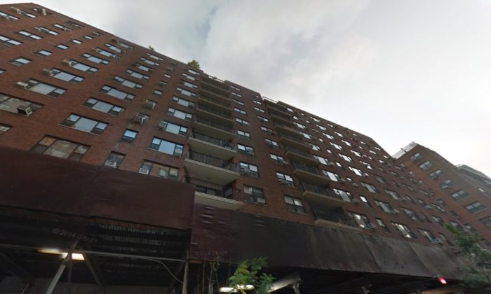 A Google Street view of the Sutton Terrace apartment building on 450 East 63rd St. on Manhattan, NY.