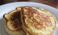 Breakfast or Dessert? Fluffy Ricotta Pancakes