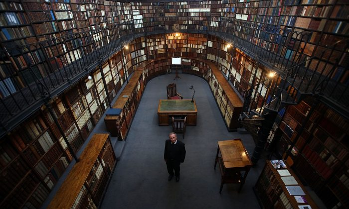 Library of Birmingham Oratory. (Christopher Furlong/Getty Images)