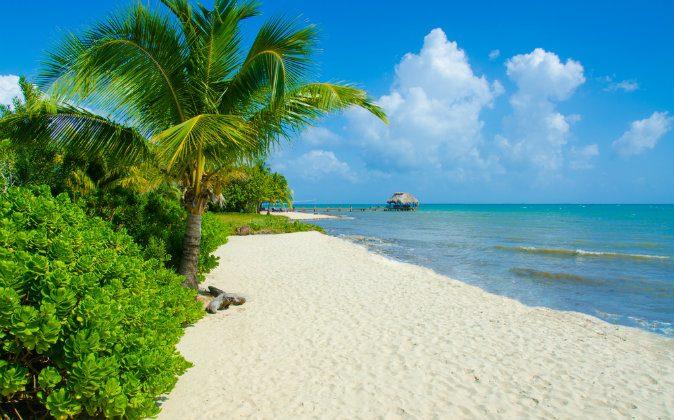 Bungalow on paradise island via Shutterstock*