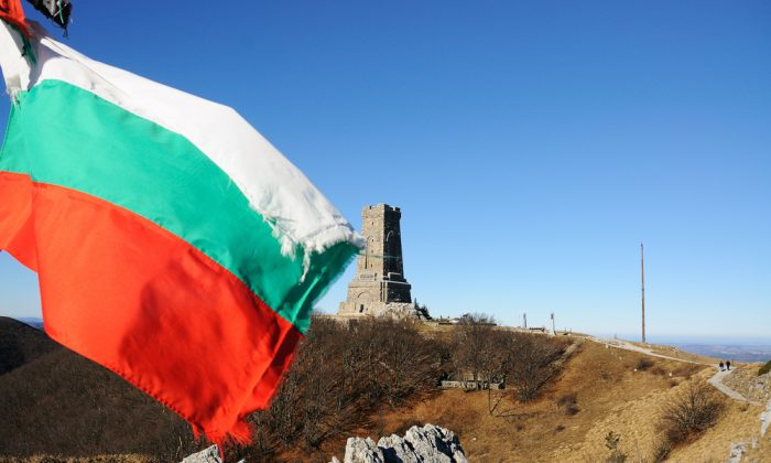 Memorial Shipka view in Bulgaria via Shutterstock