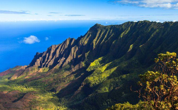 Morning scene at the Napali Coast in Kauai via Shutterstock*