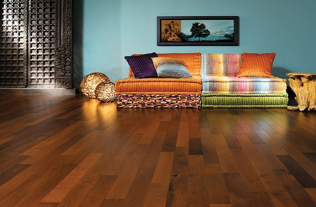 Engineered wood floors can be used in areas where natural wood floors cannot, giving your home the look and feel of hardwood without actually using the real thing. (eieihome.com)