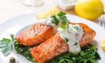 Recipe: Asian Spiced Salmon With Wasabi Mayonnaise