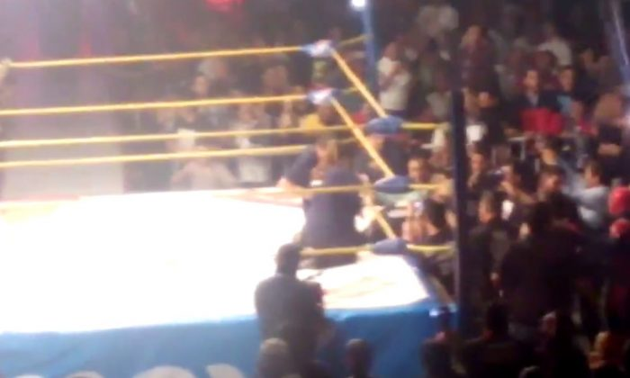 El Hijo Del Perro Aguayo, a Mexican wrestler, died in the ring while matched up ex-WWE wrestler Rey Mysterio. (Youtube/screenshot)