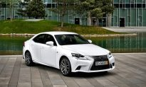2015 Lexus IS 350: A Smaller Luxury Sedan With Sporty Flair