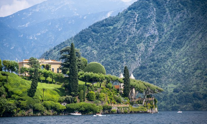 Amazing scenery at Lake Como, Lombardy, Italy.