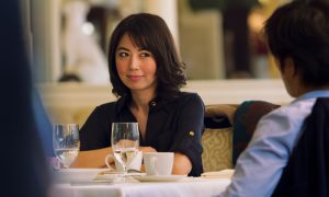 A Japanese Novelist in Trouble in 'Man from Reno'