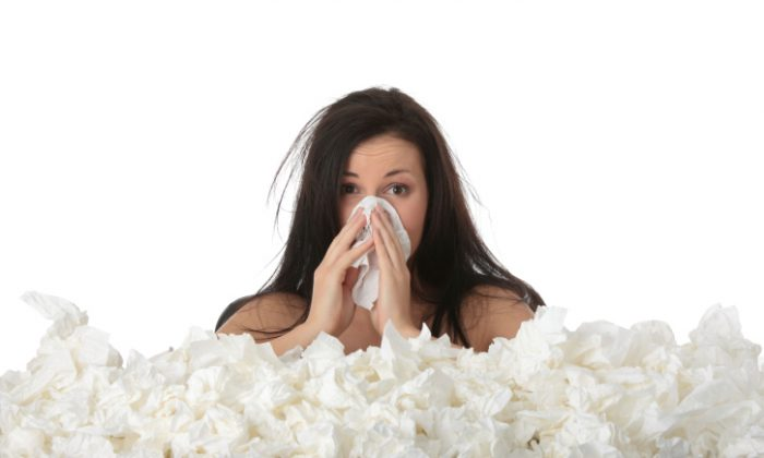 Mucus increases when we get sick, because the proteins in snot help pull invasive germs, viruses, and bacteria out of the body. (iStock/Piotr Marcinski)