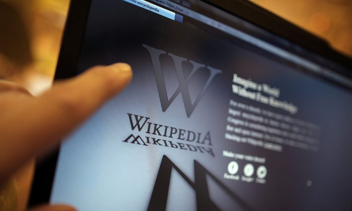 Who should or shouldn't edit Wikipedia? (Peter Macdiarmid/Getty Images)