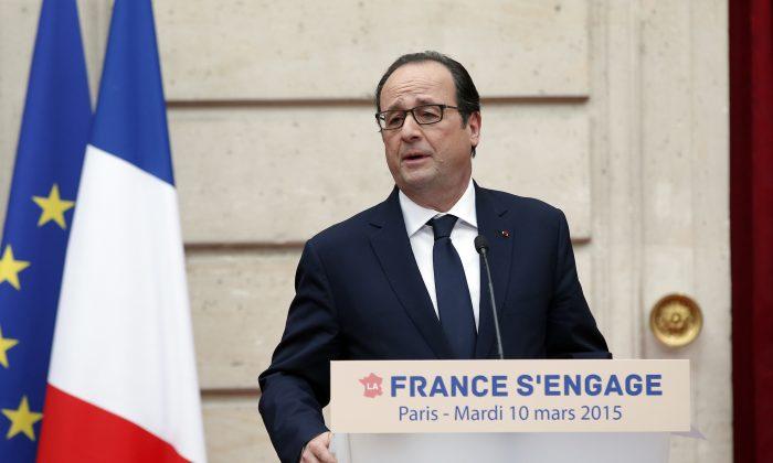 French President (AP/Christophe Ena)