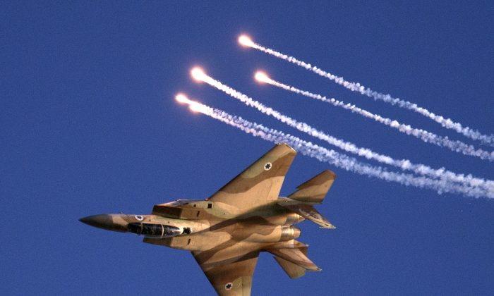 An F-15 fighter plane (JACK GUEZ/AFP/Getty Images)