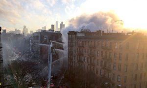 Manhattan Building Collapse: Explosion, Fire in East Village Injure Two Dozen