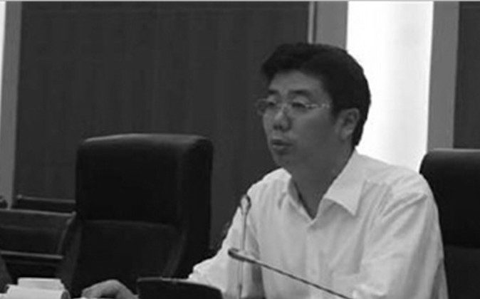 Nanjing vice mayor Wang Debao. (Screen shot/soundofhope.org)