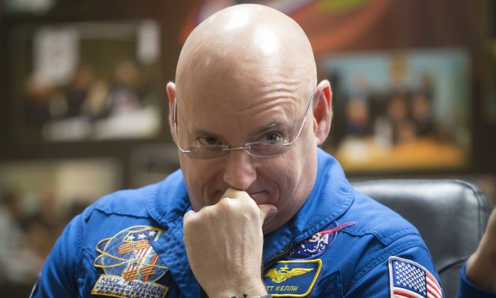 NASA astronaut Scott Kelly, will retire from the agency on April 1, 2016. (AP/Dmitry Lovetsky)