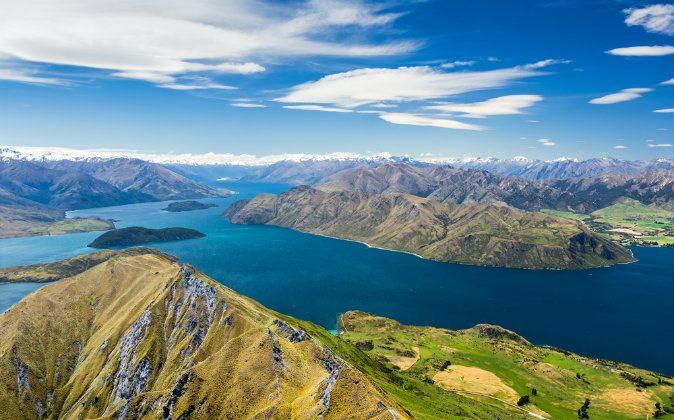 Lake Wanaka and Mt Aspiring, New Zealand via Shutterstock*