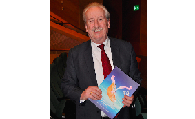 Councillor Paddy Kennedy attends Shen Yun Performing Arts at The Convention Centre Dublin. (Martin Murphy/Epoch Times)