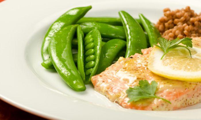 Salmon with Dijon mustard (msheldrake/iStock/Thinkstock)